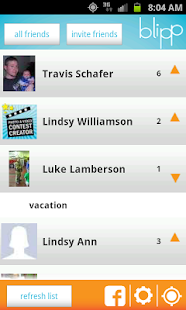 Blipp - GPS Location Sharing - screenshot thumbnail