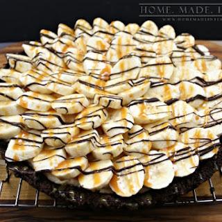 Banana Fluffernutter Pie