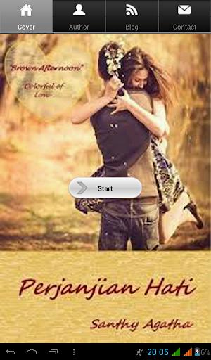 Novel Cinta Perjanjian Hati