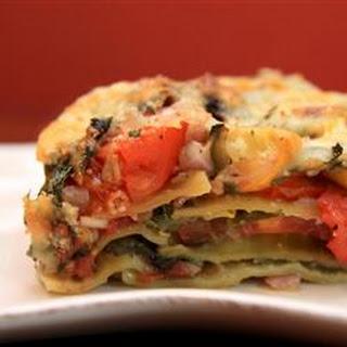 Sauceless Garden Lasagna