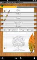 Screenshot of Englisch lernen Wörter schnell