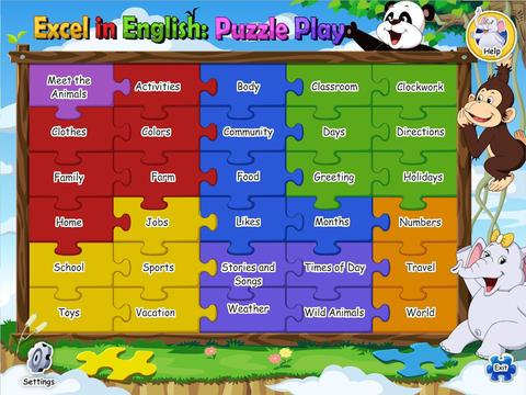Excel in English Puzzle Play 3