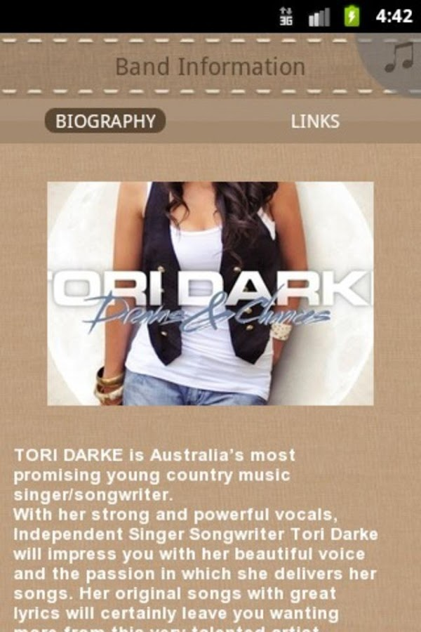 Tori Darke - screenshot
