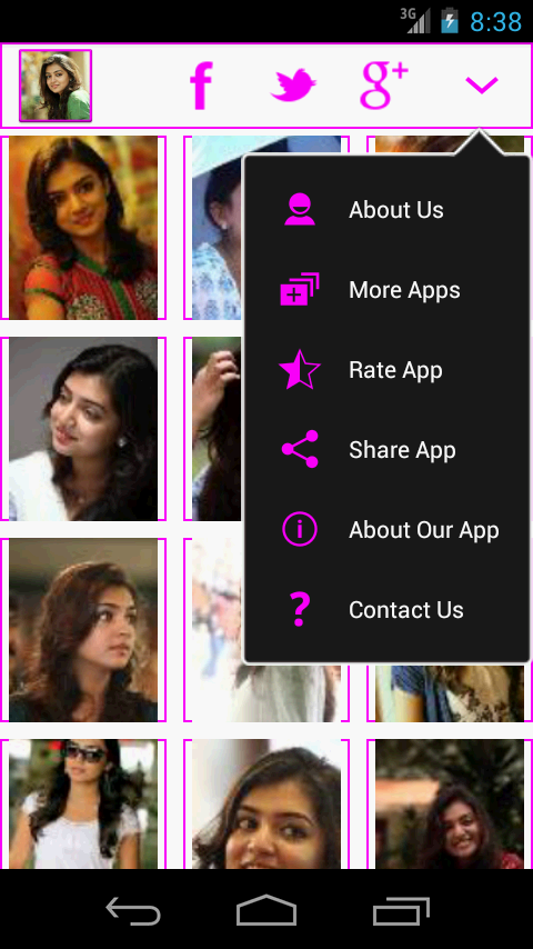 Nazriya nazim Wallpapers - screenshot