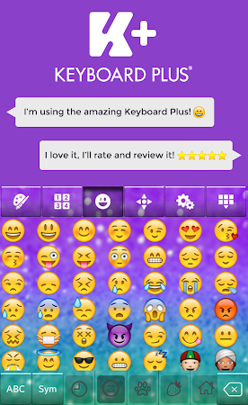 Glitter Keyboard Theme 2.0 screenshot 2012845