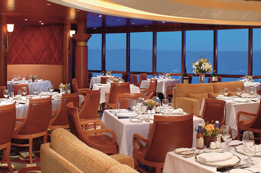 Jewel-of-the-Seas-Chops-Grille - Head to Chops Grille during your cruise on Jewel of the Seas for one of the most popular restaurants on the ship. Be sure to make your reservations early — ideally before you get aboard.