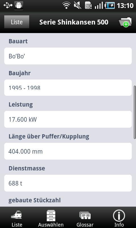 1000 Lokomotiven aus der Welt- screenshot