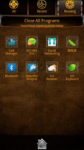 VALL go launcher EX theme - screenshot thumbnail