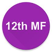 12th Math Formulas