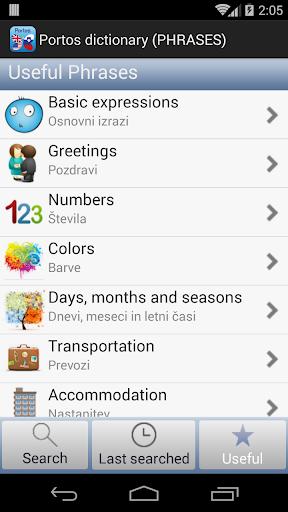 【免費旅遊App】PortosDicty Eng-Slo-APP點子