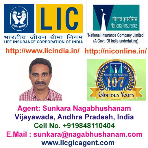 Insurance Agent LIC & National