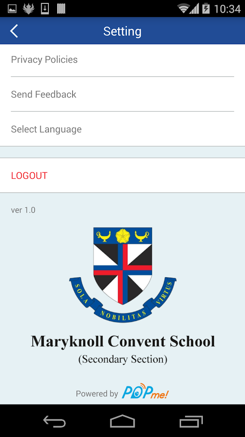 Maryknoll Convent School (SS) - 螢幕擷取畫面
