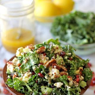 Kale Salad with Meyer Lemon Vinaigrette.