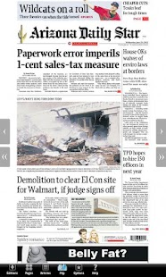 Arizona Daily Star E-Edition - screenshot thumbnail
