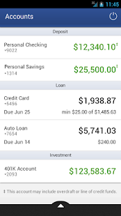 Dort Federal Mobile Banking - screenshot thumbnail