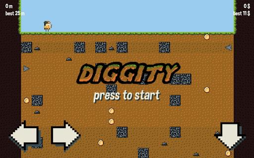 Diggity : old-school miner