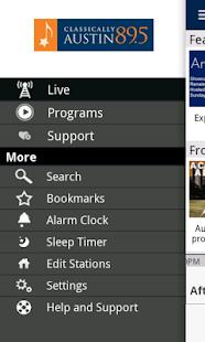 KMFA Public Radio App - screenshot thumbnail