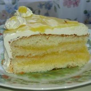 Silver White Cake.