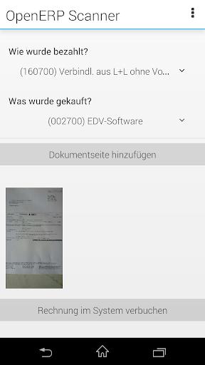 OpenERP Scanner BETA