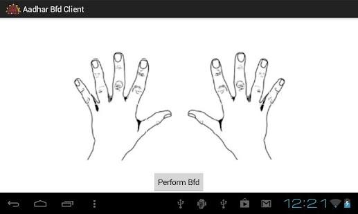 Aadhaar BFD Client- screenshot thumbnail