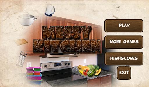 Messy Kitchen - Hidden Object