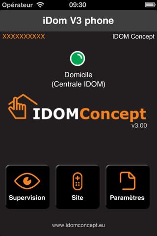 iDom V3 Lite phone