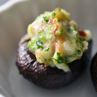 Paleo Shrimp-Stuffed Mushrooms
