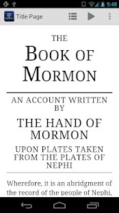 The Book of Mormon- screenshot thumbnail