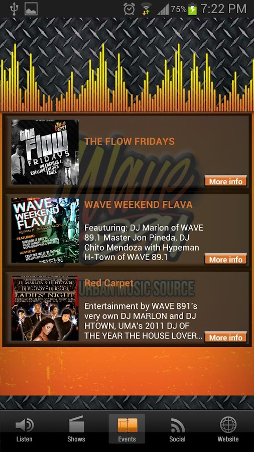 WAVE891 - screenshot