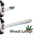 Weed Joint LovR battery widget logo