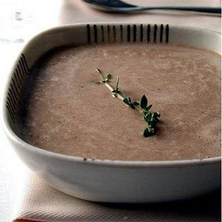 Rich Mushroom Soup.