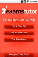 Screenshot of Maths GCSE