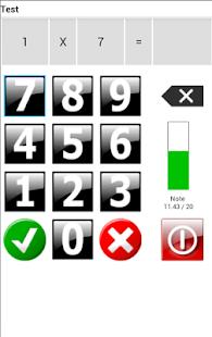 Tables de Multiplication - screenshot thumbnail