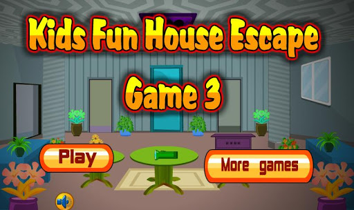 Kids Fun House Escape Game 3