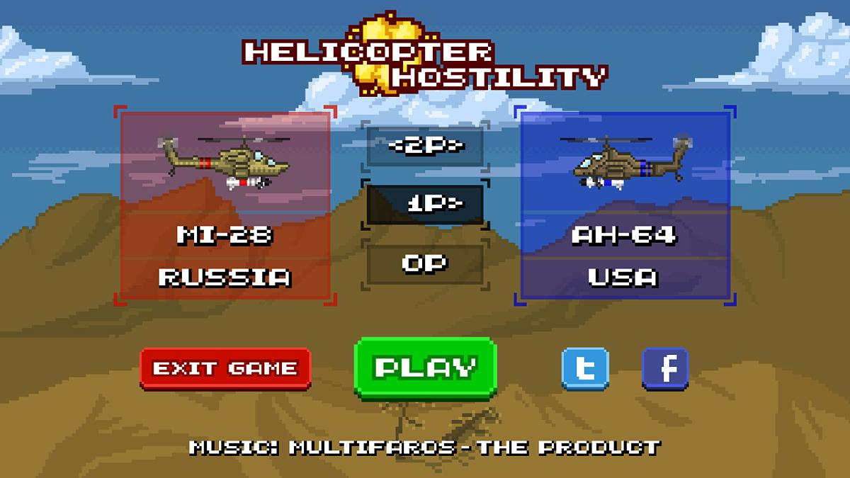 Helicopter Hostility- screenshot