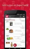 Screenshot of scondoo Angebote im Supermarkt