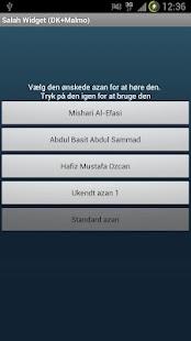 Salah Widget Donation- screenshot