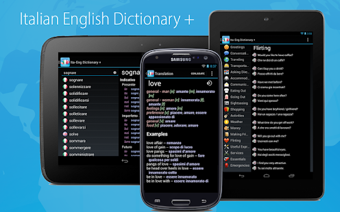 Italian English Dictionary - screenshot thumbnail