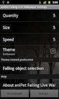 Screenshot of aniPet Holiday Live WP
