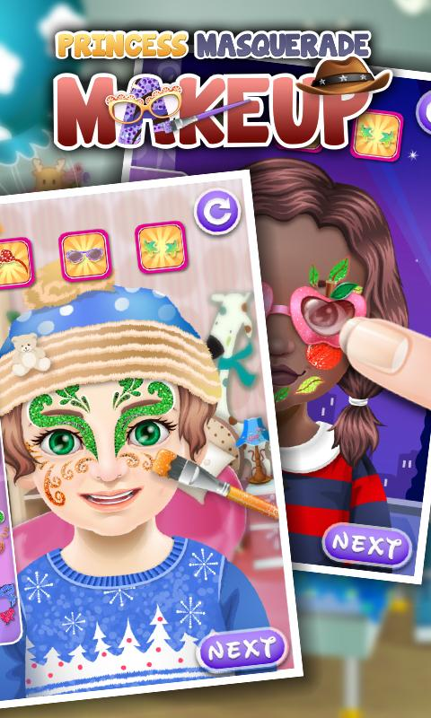 Princess Masquerade Makeup - screenshot