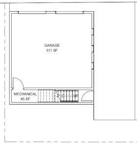 garage first floor