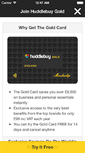 Goldcard- screenshot thumbnail