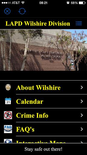 LAPD Wilshire