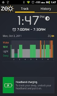 Zeo Sleep Manager- screenshot thumbnail