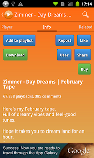 My Melody Box for SoundCloud - screenshot thumbnail