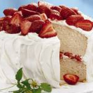 Classic White Cake.