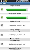 Screenshot of Smart Volume Profile Manager