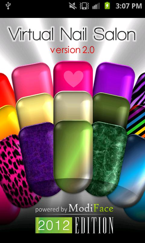 Virtual acrylic nail salon games