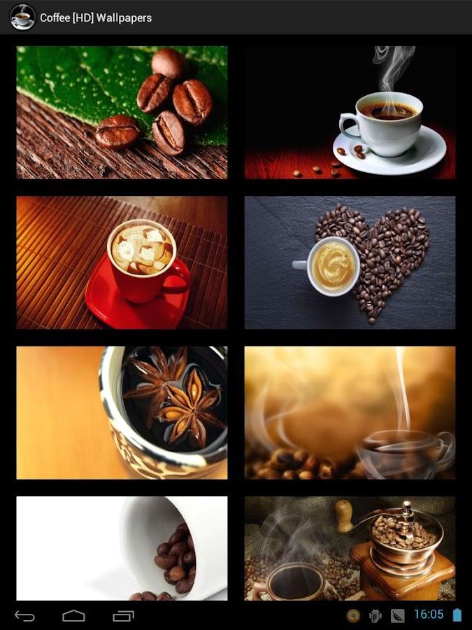 Coffee [HD] Wallpapers- screenshot