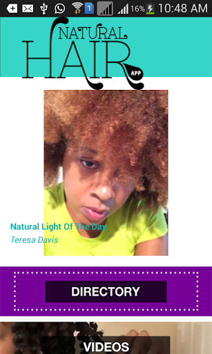 Natural Hair Styles Free App
